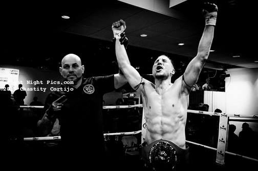 Justin Greskiewicz WBC National Muay Thai Champ