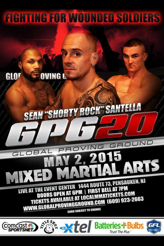 "Sean ""Shorty Rock"" Santella looking to get back on track at GPG 20"