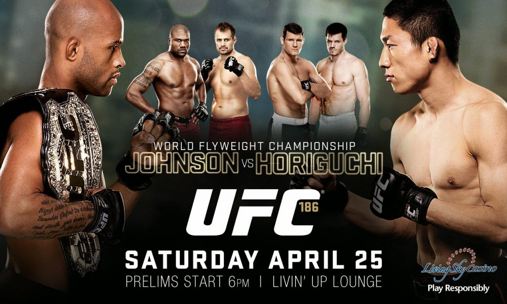 UFC 186 weigh-in results
