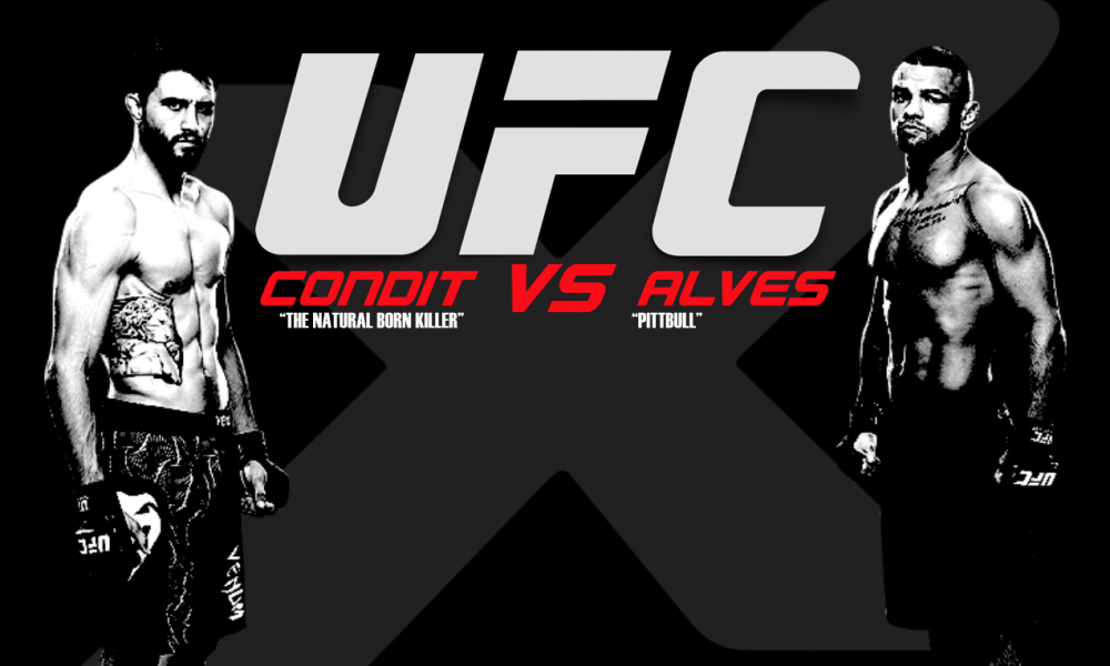 UFC Fight Night 67 – Condit vs Alves results