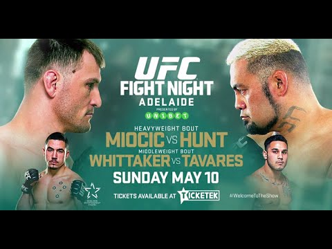 UFC Adelaide results:  Hunt vs Miocic