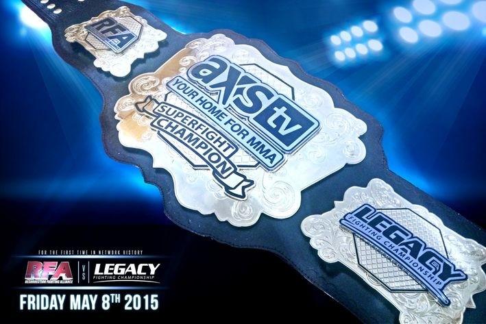 AXS TV: RFA vs. Legacy Superfight results