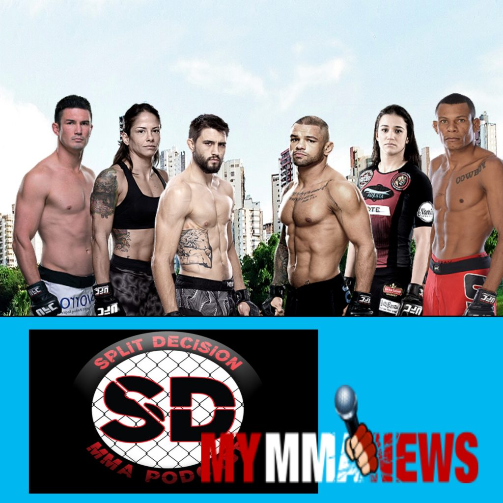 Split Decision MMA podcast - MMA News, UFC Fight Night 67, 187, Correia, Cormier, Bader
