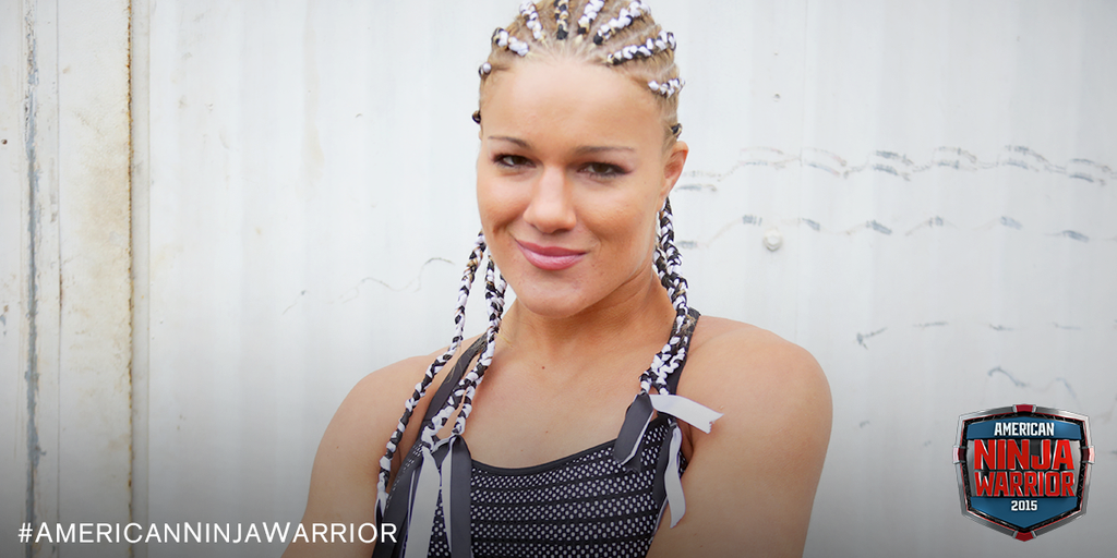 VIDEO:  Felice Herrig tries out for American Ninja Warrior