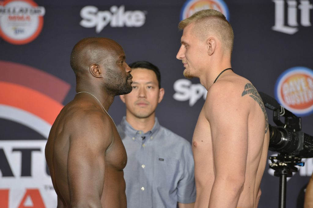 Bellator 139 weigh-in results