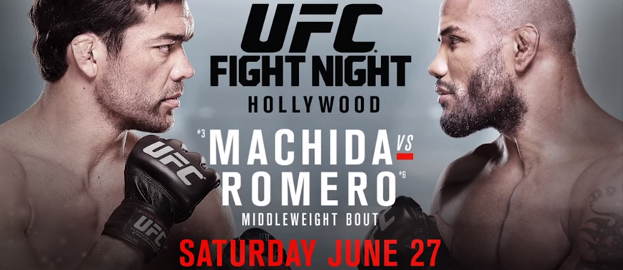 UFC Fight Night 70 weigh-in results – Machida vs Romero