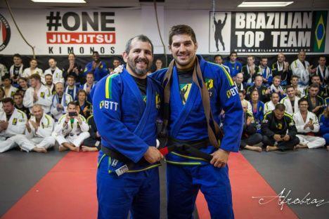 Patrick Cote is the Brazilian Top Team's newest Black Belt