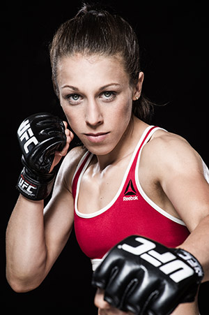 Reebok partners with UFC champ Joanna Jędrzejczyk