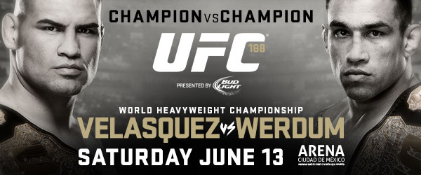 UFC 188 weigh-in results: Velasquez vs Werdum