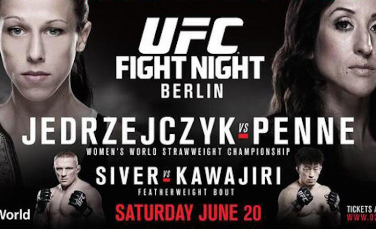 UFC Fight Night Berlin Results – Jedrzejczyk Bloodies Penne