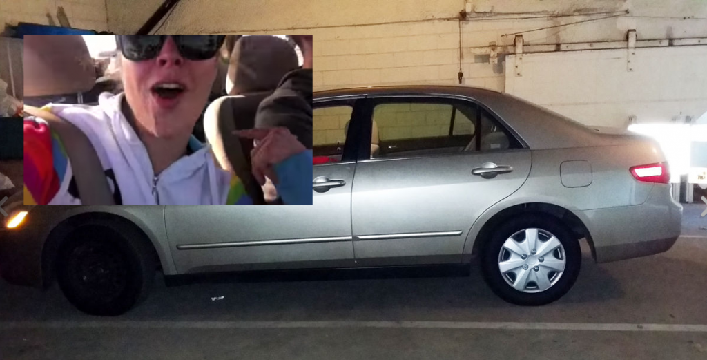 Want to own Ronda Rousey's 2005 Honda Accord LX? Here's your chance!