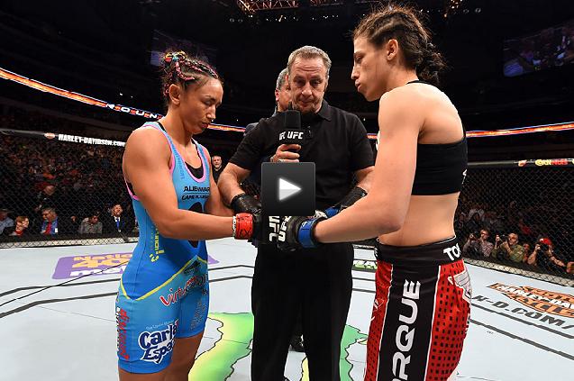 FREE FIGHT – Joanna Jedrzejczyk vs. Carla Esparza