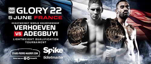 Glory Kickboxing debuts on Spike (UK) with Glory 22