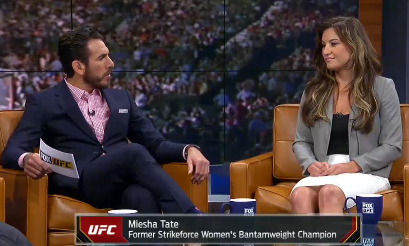 Tate shares strategy for potential third Rousey fight