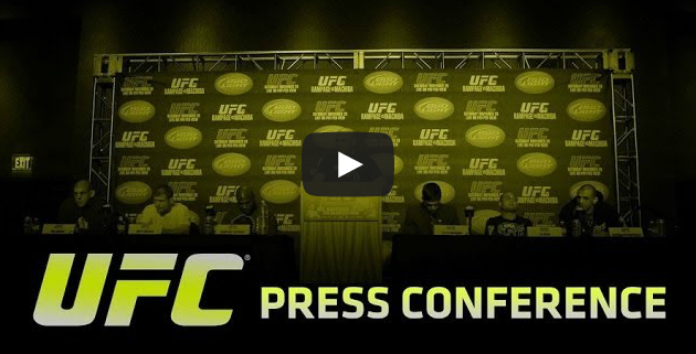 LIVE VIDEO: 2pm Today - UFC press conference - Athlete Marketing and Development Program
