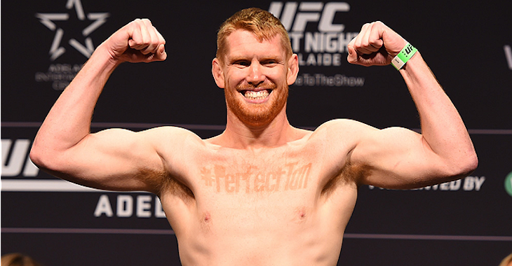 Sam Alvey risks streak against Brunson in August