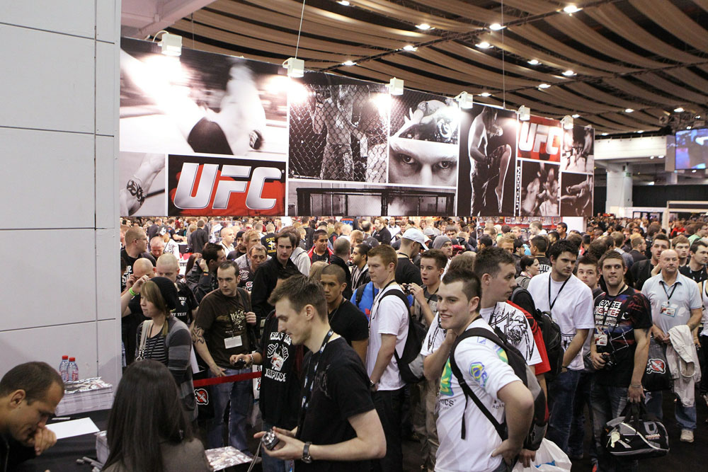 Full lineup confirmed for UFC Fan Expo