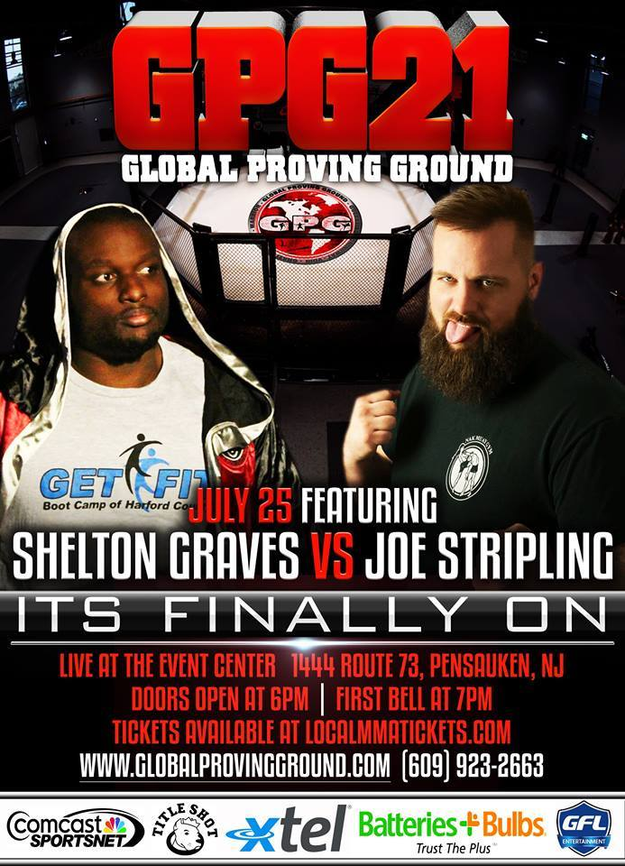 """Bazooka"" Joe Stripling explodes at GPG 21 - sees 1st Rd TKO"