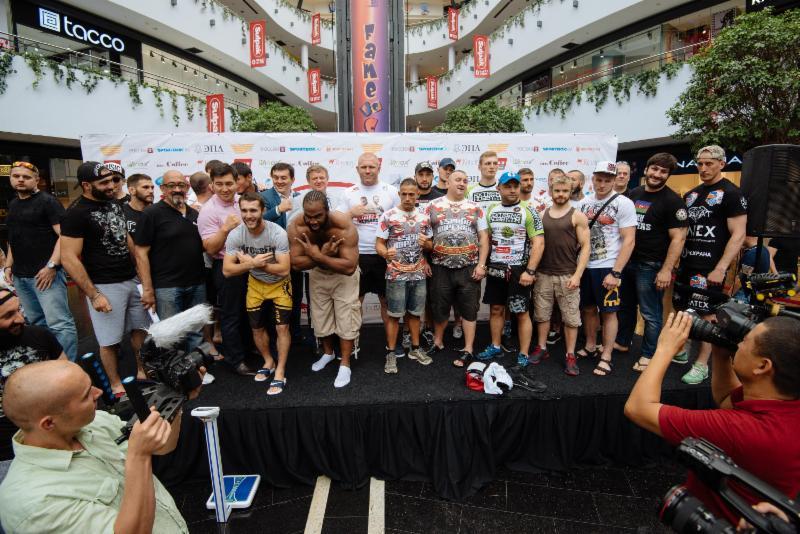 Weights and pictures for M-1 Challenge 59 in Kazakhstan