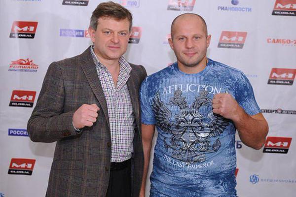 M-1 Global President Vadim Finkelchtein talks about Fedor's return to MMA