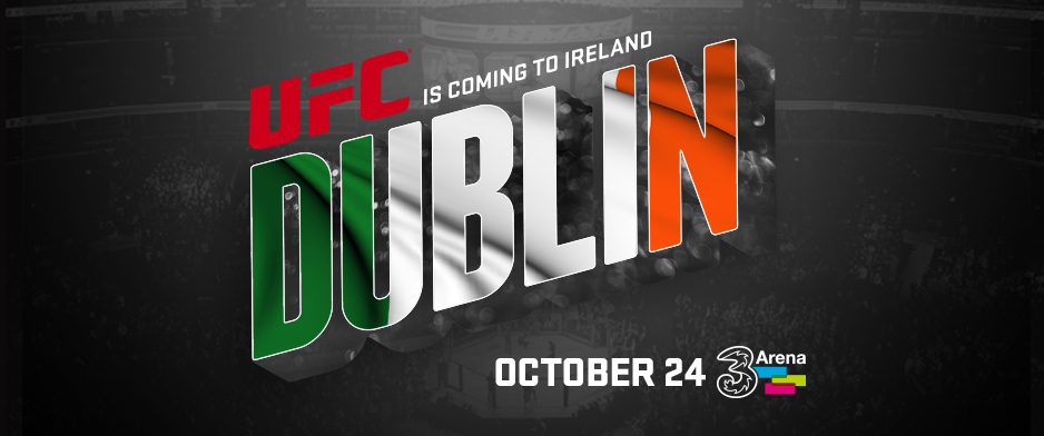 UFC returns to Dublin on October 24