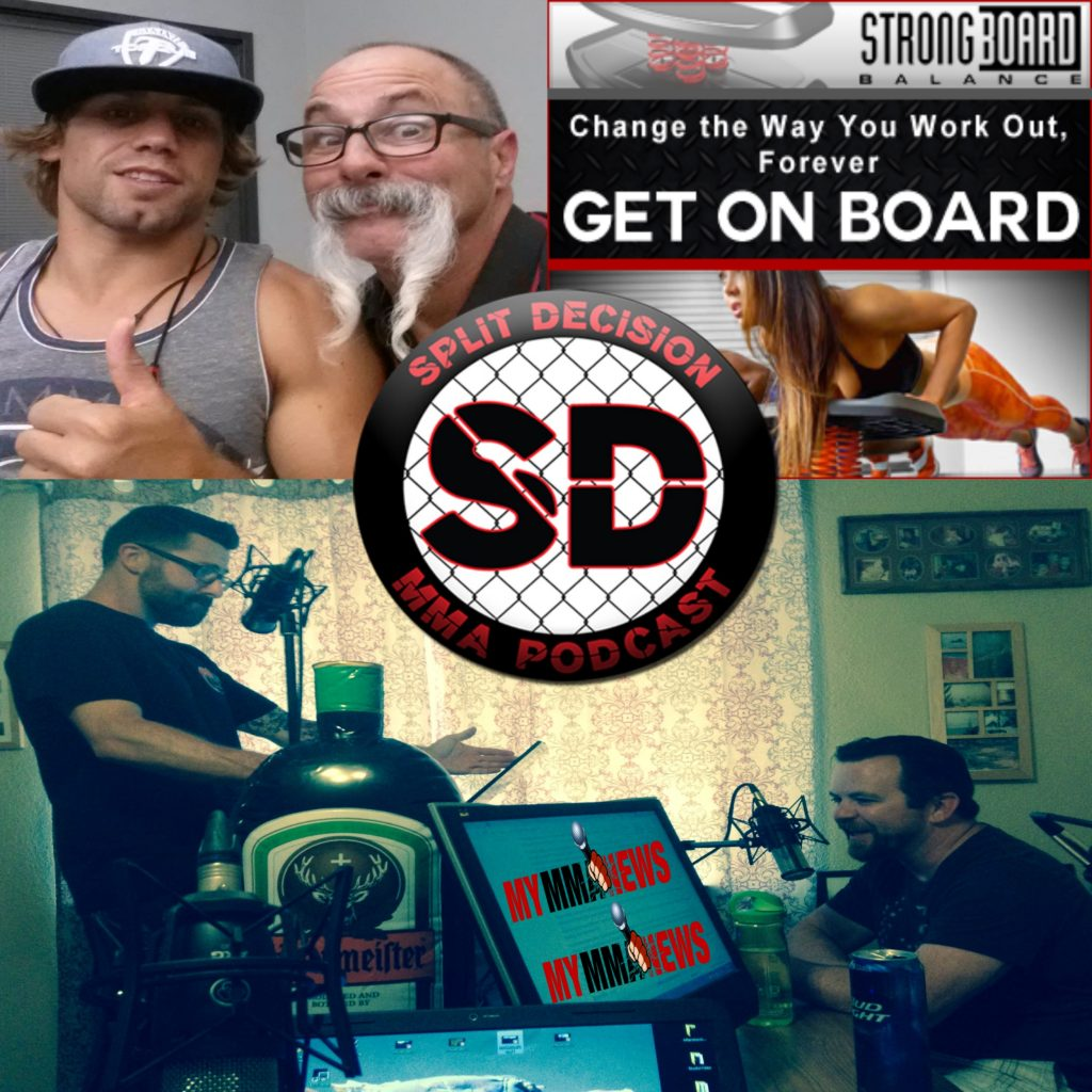 Split Decision MMA Podcast - MMANews, Reebok Fight Kit, IV's, UFC 189