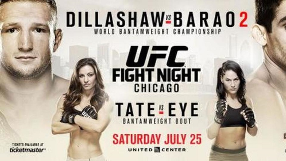 UFC on FOX 16 weigh-in results and video