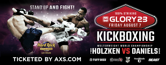Glory 23 fight card finalized for August 7 in Las Vegas
