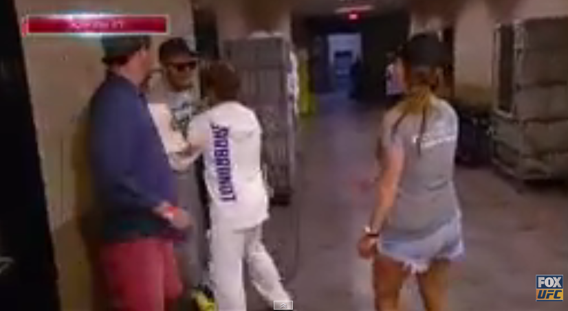 Conor McGregor and Urijah Faber have altercation before weigh-in
