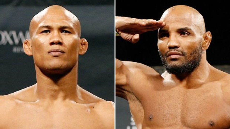Jacare vs Romero added to UFC 194