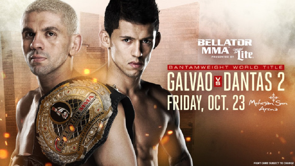 Two title fights, one night. MW belt up for grabs at Bellator 144
