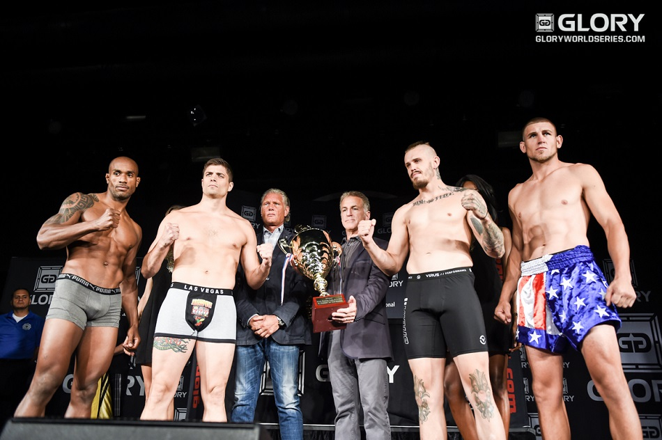 GLORY 23 and GLORY SuperFight Series Weigh-in Results & Photos