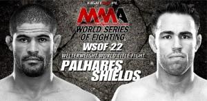 Rousimar Palhares vs Jake Shields - WSOF 22