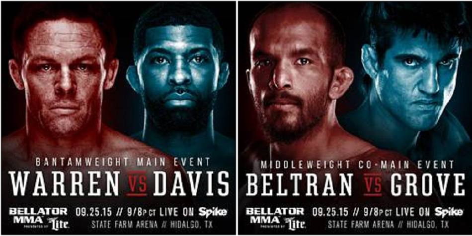 Bellator set for well-Warren-ted return to the Lone Star State