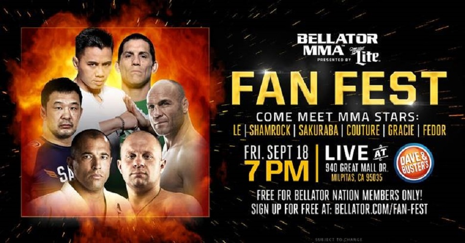 Bellator MMA announces a legendary Fan Fest for Dynamite 1 in San Jose