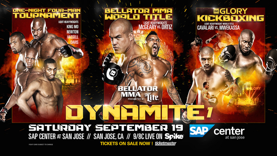 Third World Title Fight Added To 'Bellator MMA: Dynamite 1'