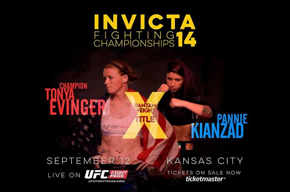 Invicta FC 14 gets new title fight main event