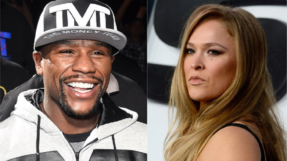 Rousey rips Mayweather again, says she nets more 'per second' than him