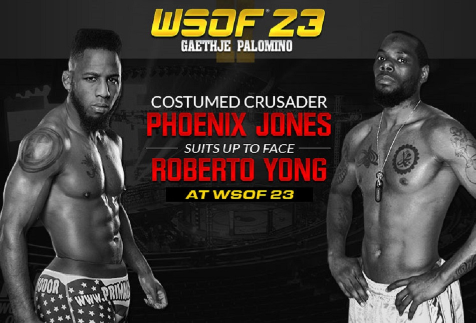 WSOF 23 Adds Phoenix Jones vs. Roberto Yong