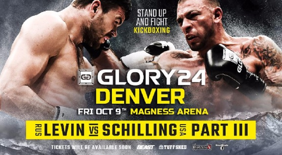 Levin-Schilling III to Headline GLORY 24