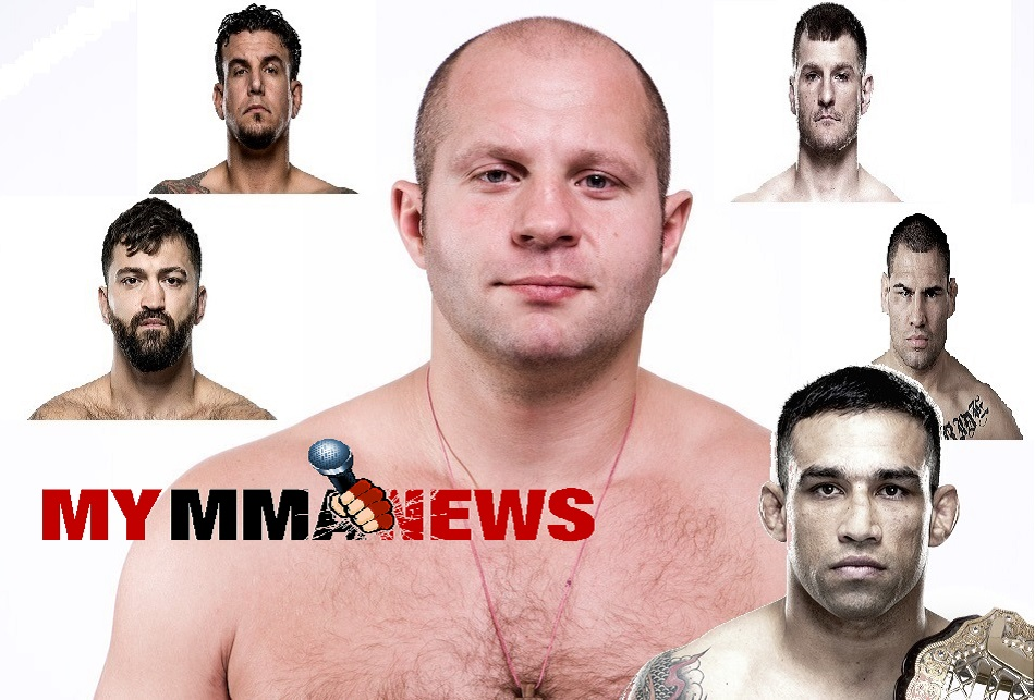 5 Fights The UFC Should Make For Fedor If Signed