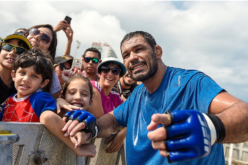Minotauro Nogueira Joins UFC Brazil as Athlete Relations Ambassador