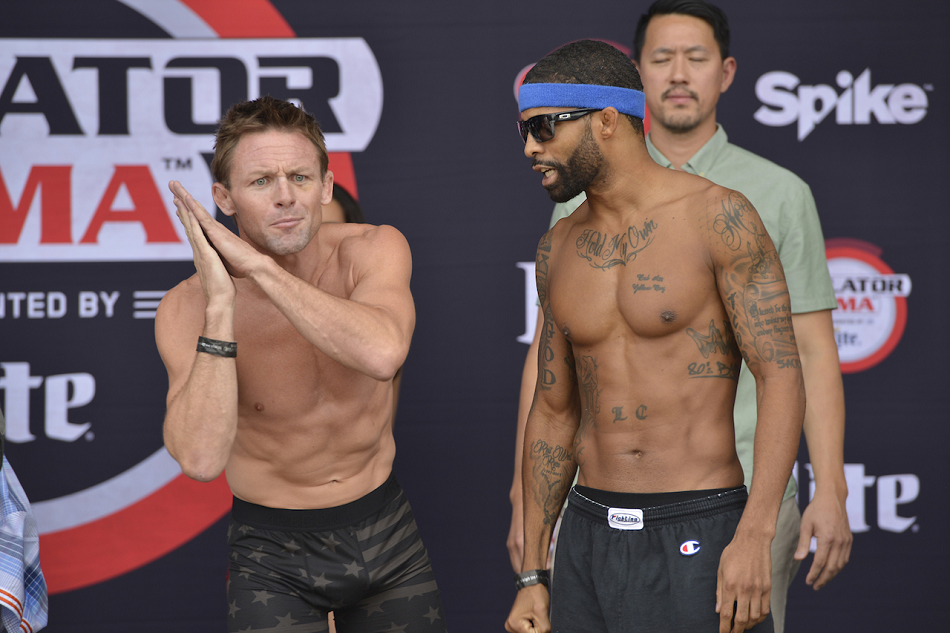 Official 'Bellator 143: Warren vs. Davis' Weights