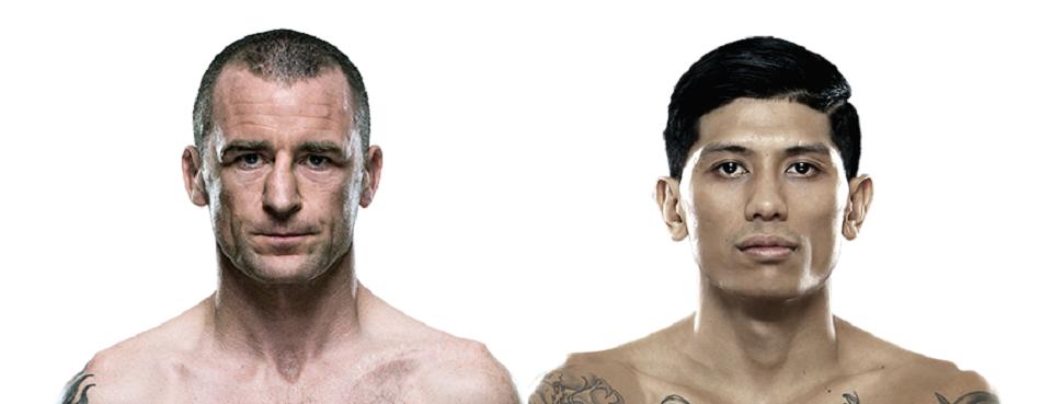 Neil Seery vs Jon Delos Added to UFC Dublin