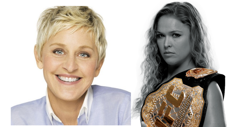 Ronda Rousey to be first UFC star on Ellen DeGeneres Show