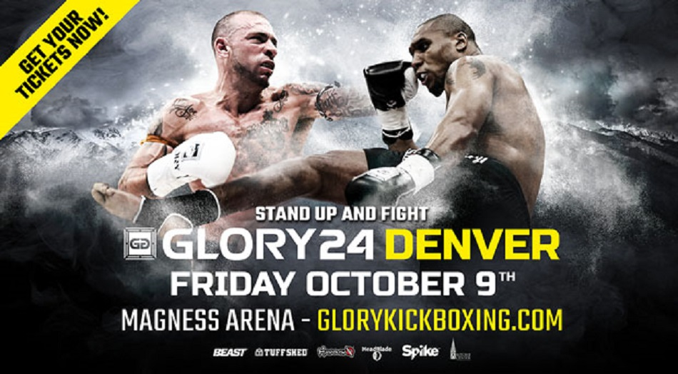 GLORY 24 Fight Card Finalized, Jacoby vs. Barrett Serves as Co-Headline Bout