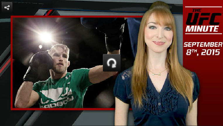 Watch: Alexander Gustafsson talks prep for title fight