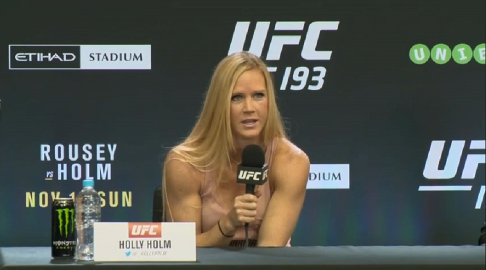 Dana White:  Holly Holm will fight again before Ronda Rousey rematch