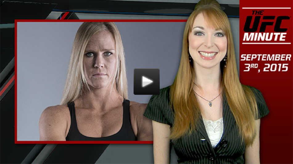 Holly Holm reveals what Miesha Tate said about title fight
