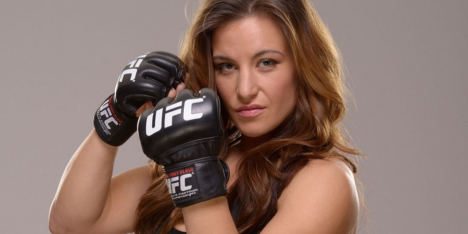 Watch: Miesha Tate trains speed bag on set of Fight Valley